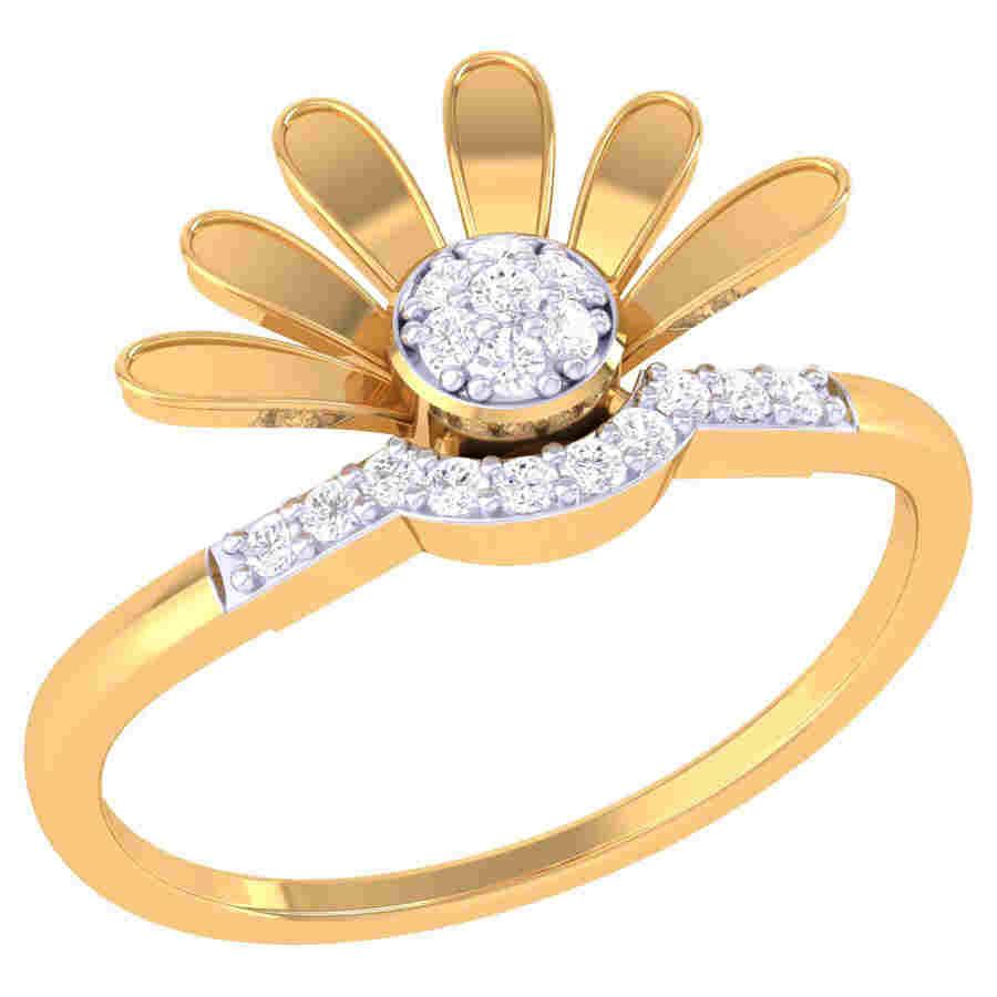 Lotus Flower Ring