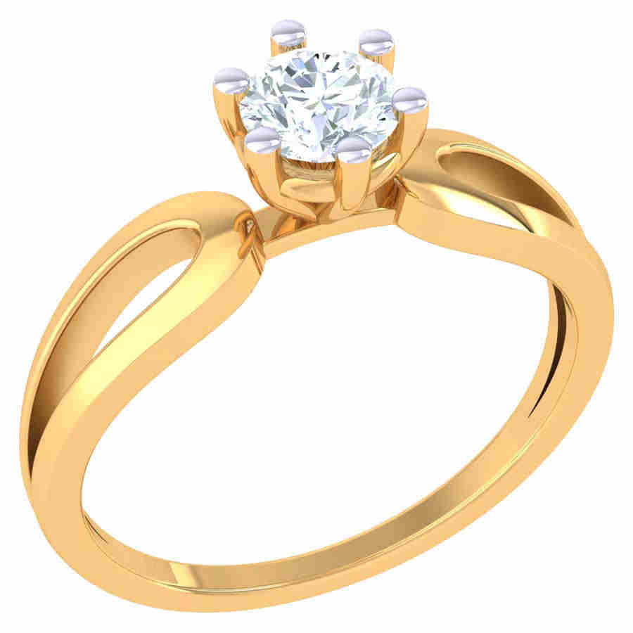 Rich Look Solitaire Ring
