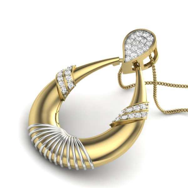 Drop The Dew Diamond Pendant