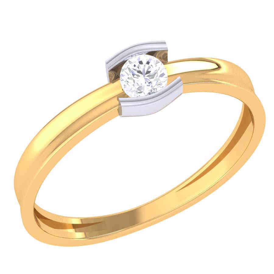 Descent Diamond Ring