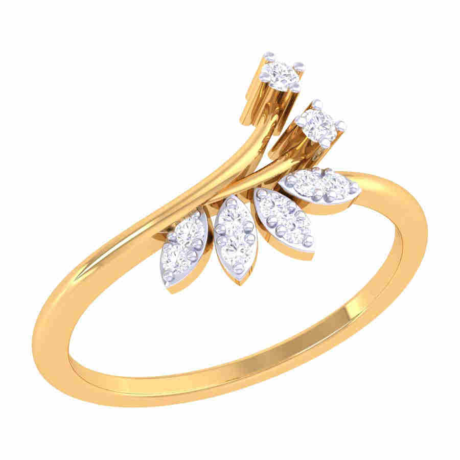 Flory Design Diamond Ring