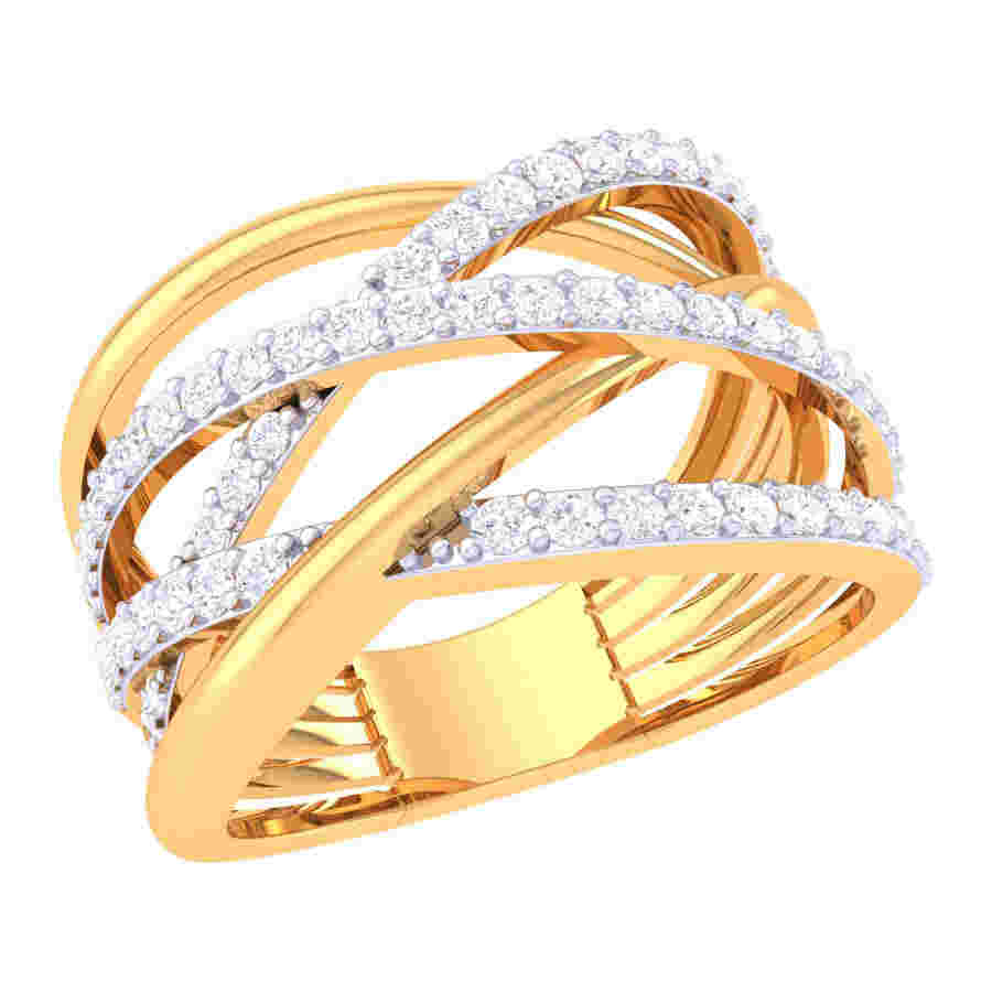 Multi Round Diamond Ring