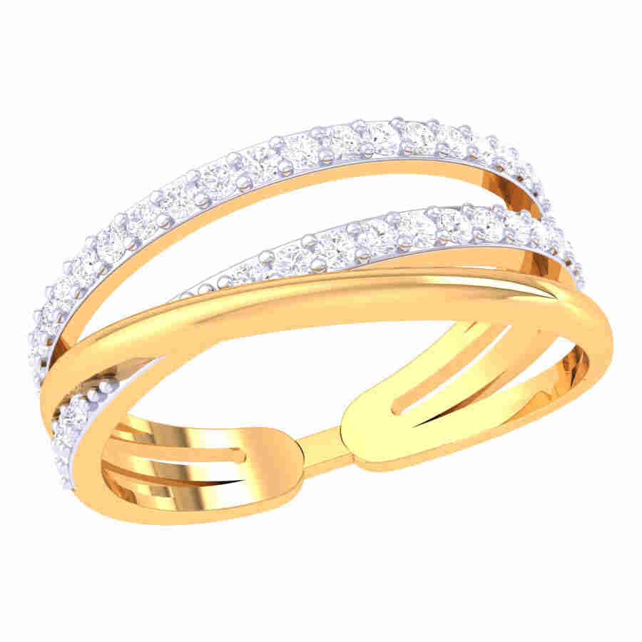 Rich Look Diamond Ring