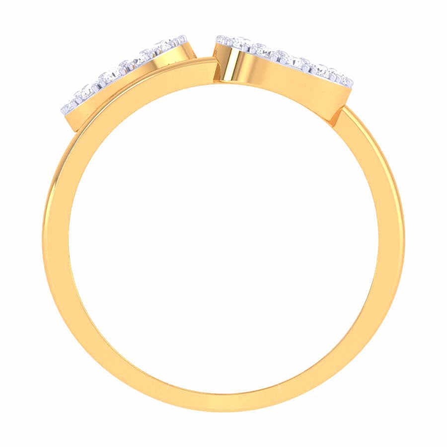 3 Circle Diamond Ring