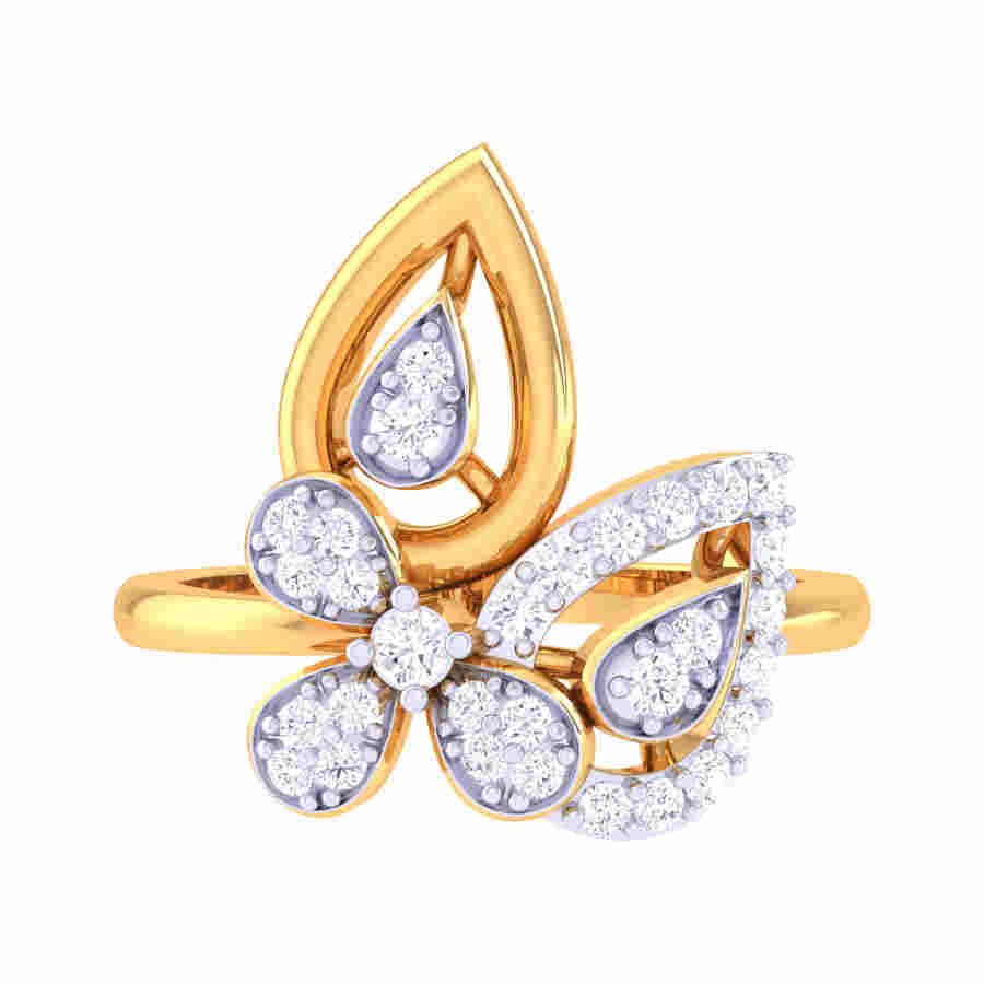 Eloquent Diamond Ring
