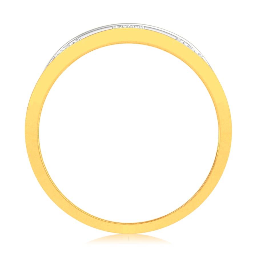 Ornate Band Diamond Ring