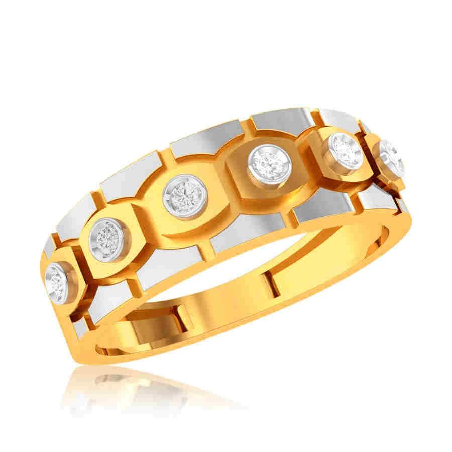 Shining Crown Diamond Ring