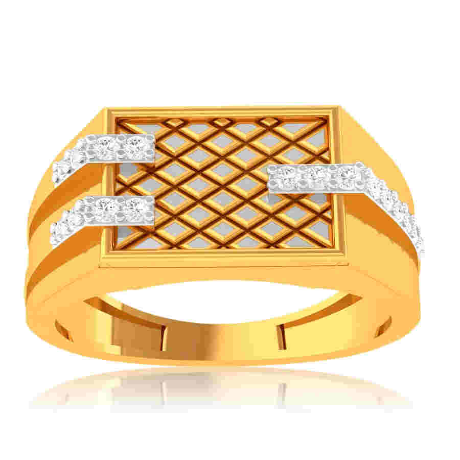 Classic Mesh Diamond Ring