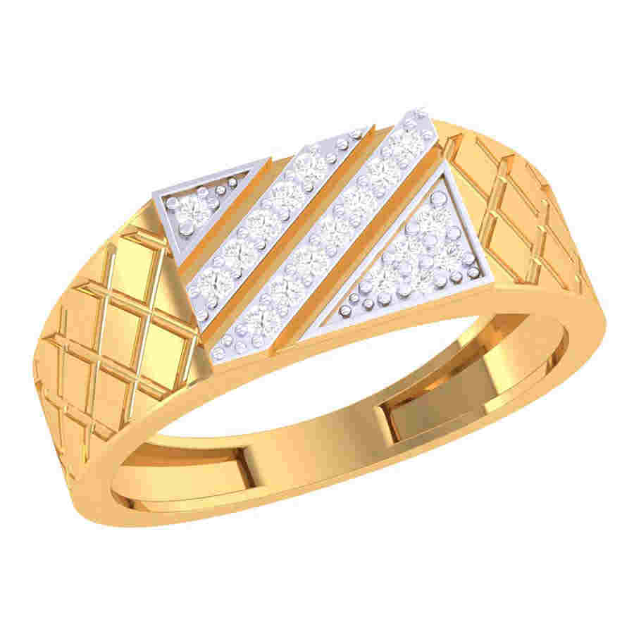 Trendy Diamond Ring