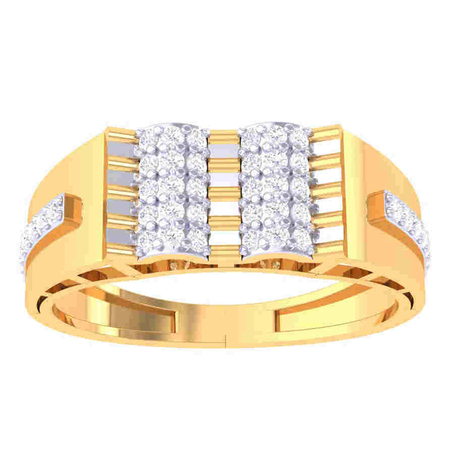 Shining Stout Diamond Ring