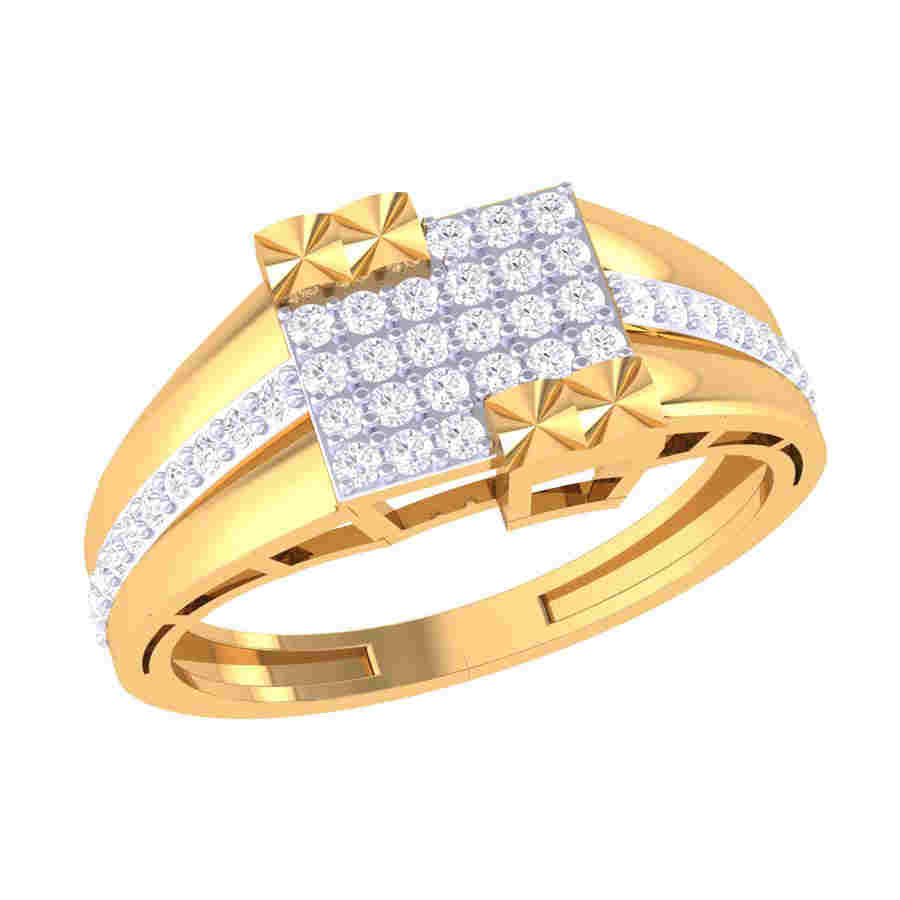 Bold & Definite Diamond Ring