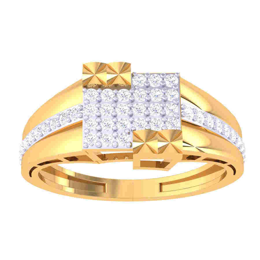 Bold & Definite Diamond Ring