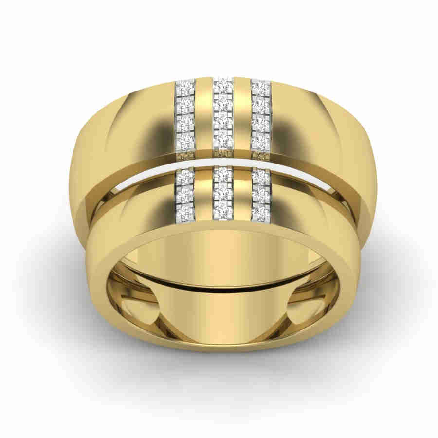 matching gold wedding bands jc wholesale stainless ip couple steel