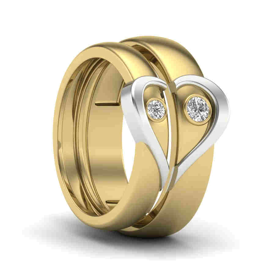 Engraved Love Coupleband