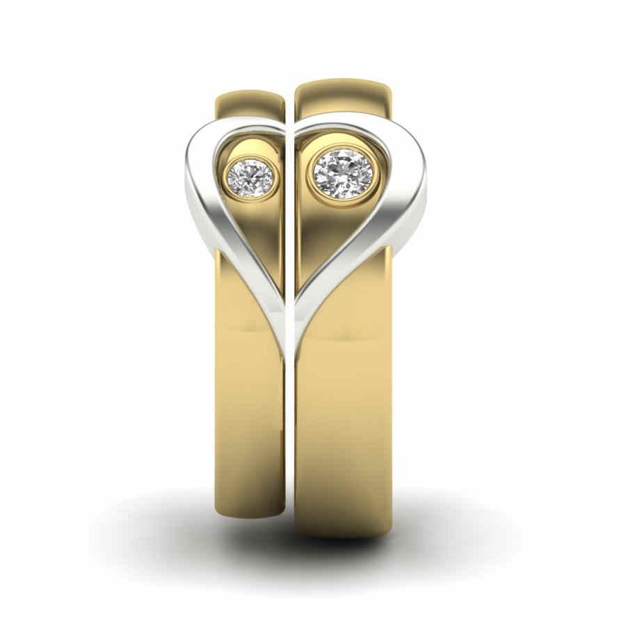 Engraved Love Coupleband