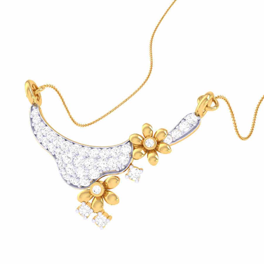 Tanmaniya Diamond Pendant