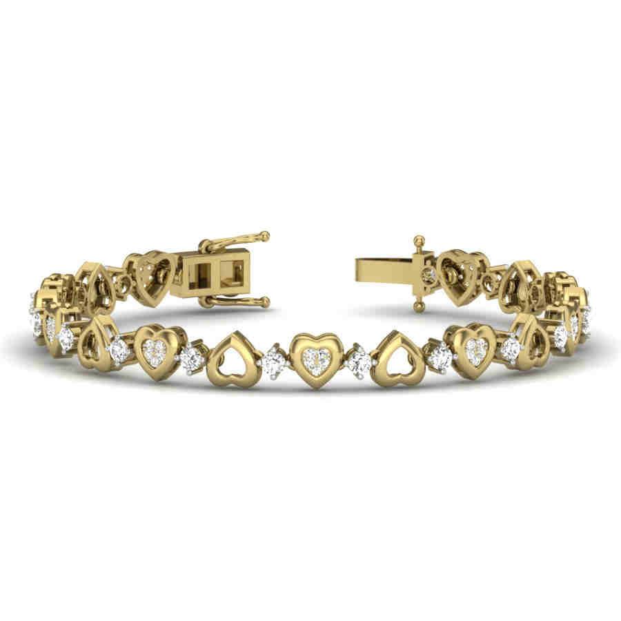 Love Unfolds Diamond Bracelet