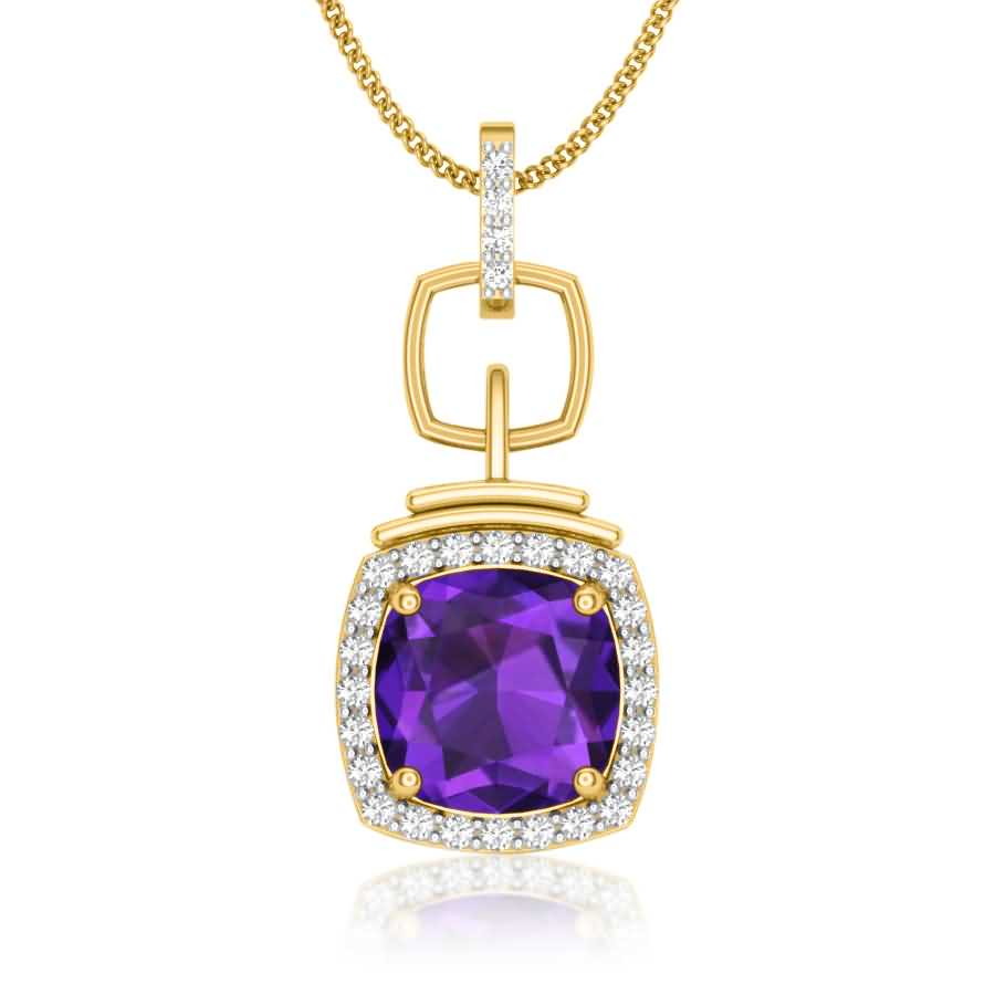 Luxury Diamond Pendant