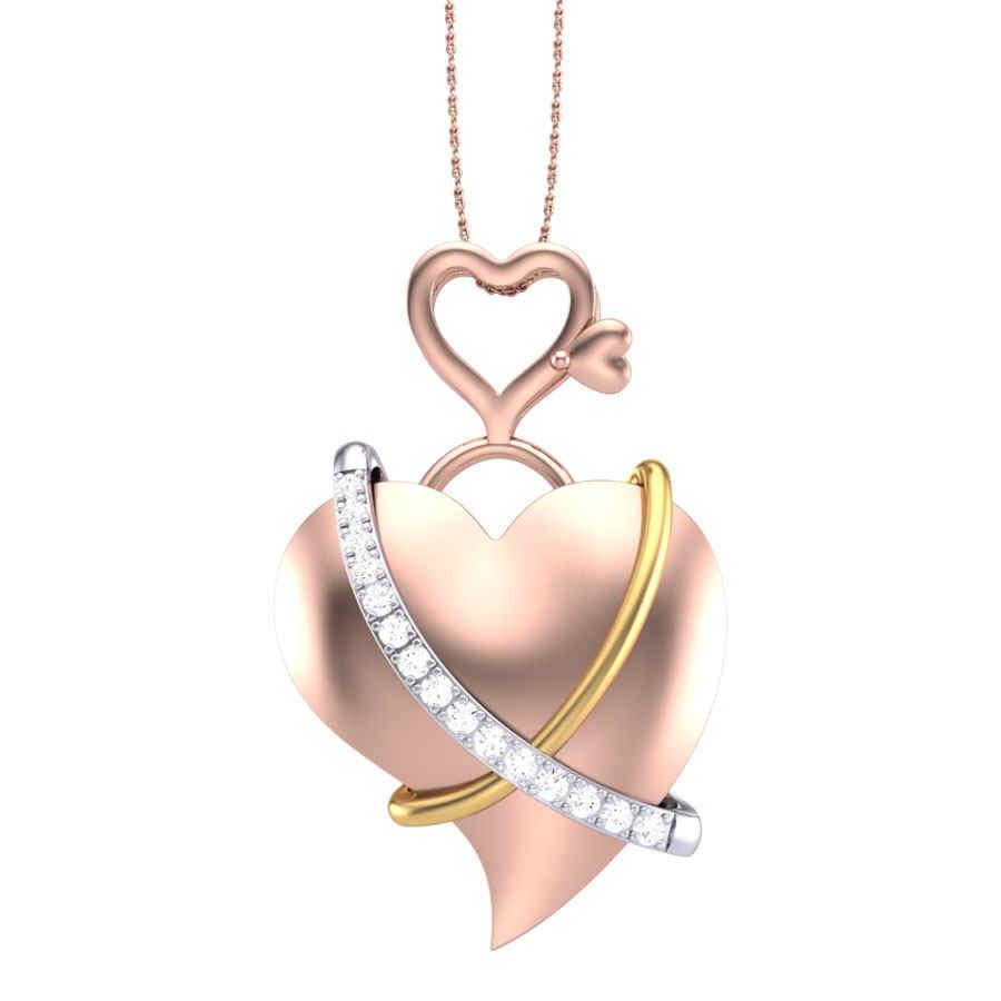 Emma Heart Diamond Pendant
