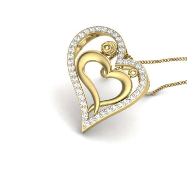 Love Beyond 43 Diamond Pendant