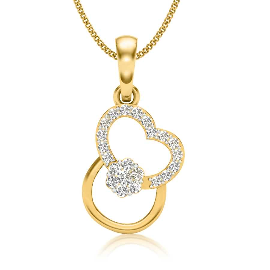 Loveu Diamond Pendant