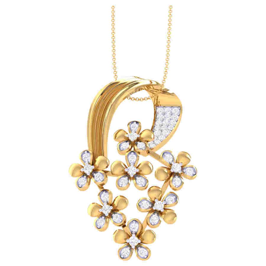 Bahula Diamond Pendant
