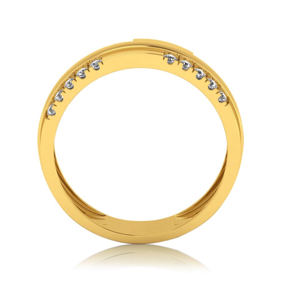 Two Layered Diamond Ring
