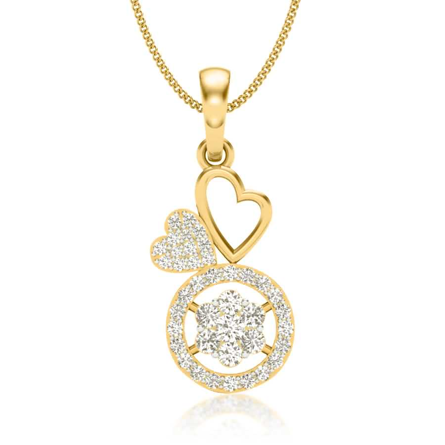 Star n love Diamond Pendant