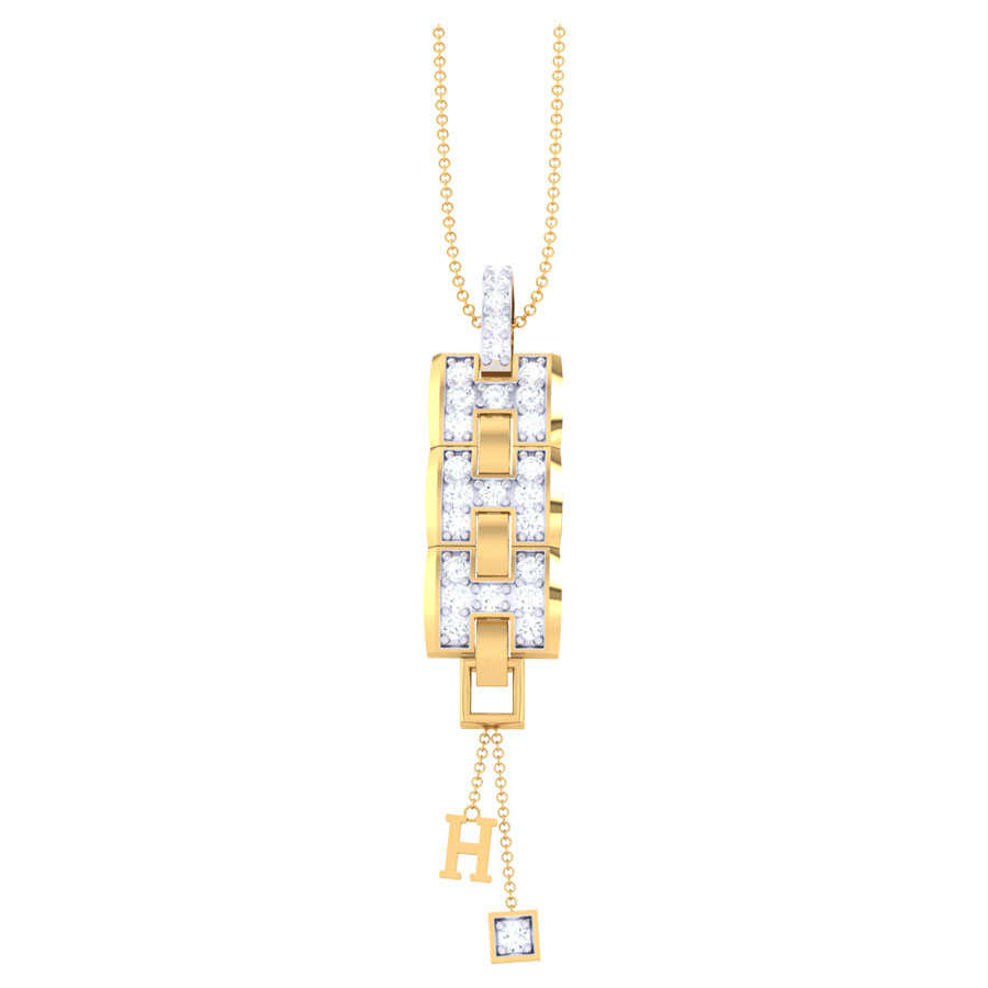 Caratlen Diamond Pendant