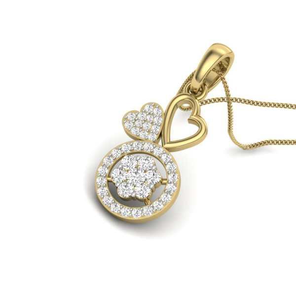 Star n love Diamond Pendant
