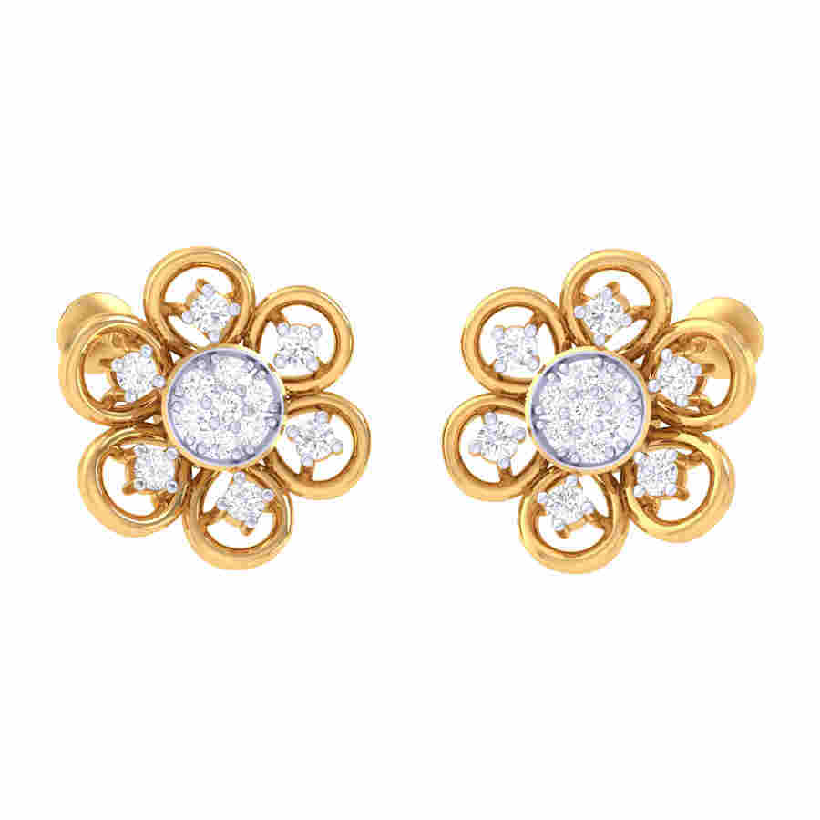 Tanishk Diamond Earring