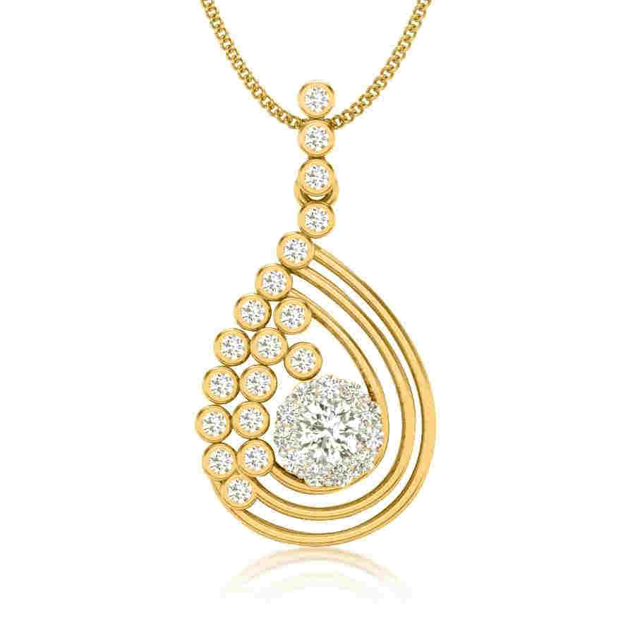 Mad Over 19 Diamond Pendant