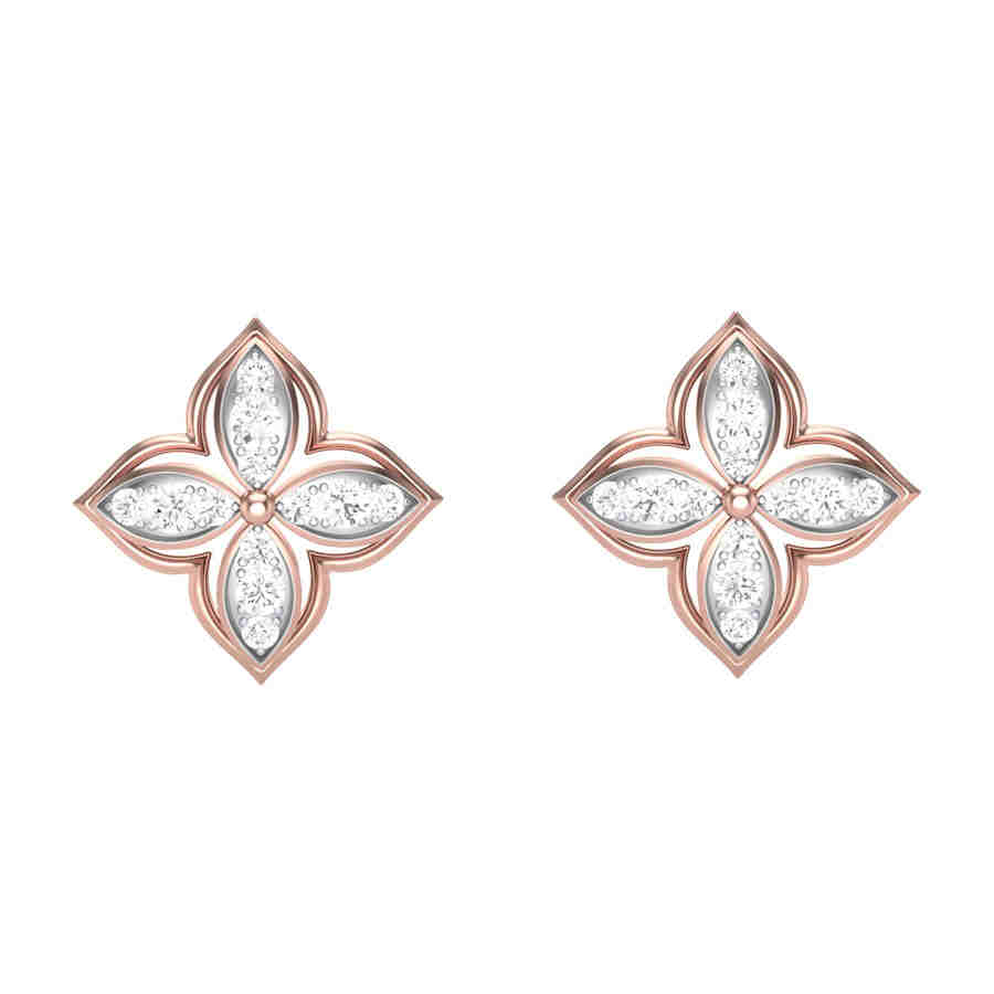 Coruscation Diamond Earring