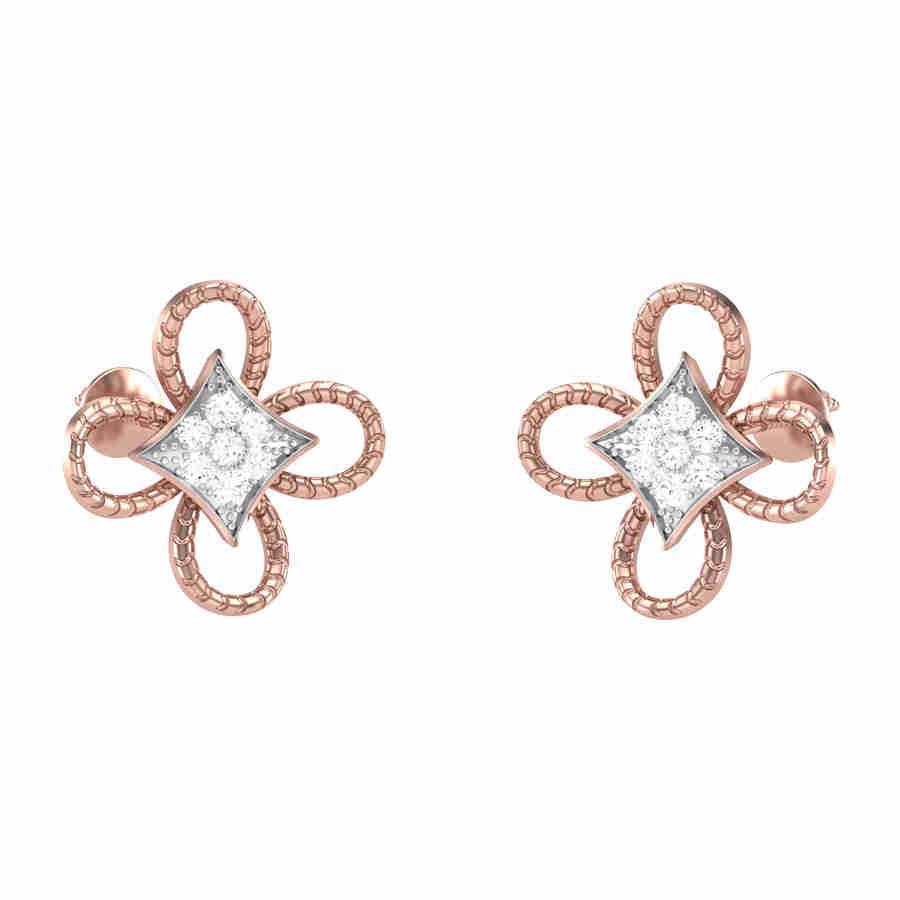 Glint Diamond Earring