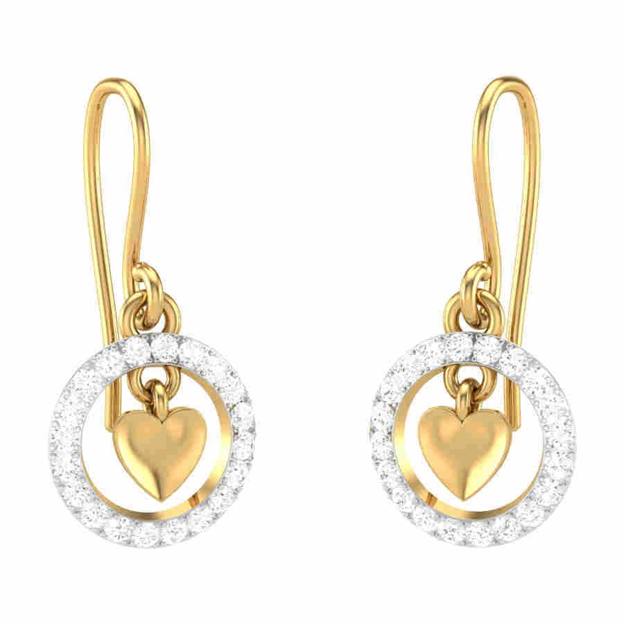 Glitz Diamond Earring