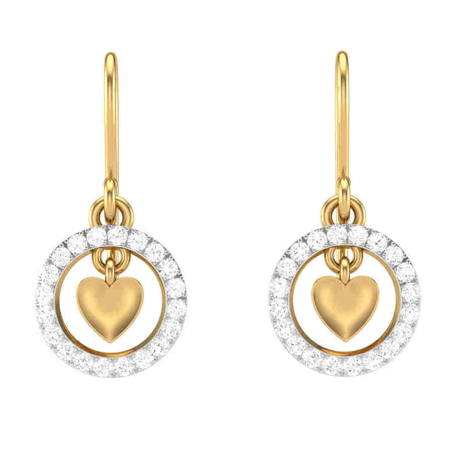 Glitz Diamond Earring