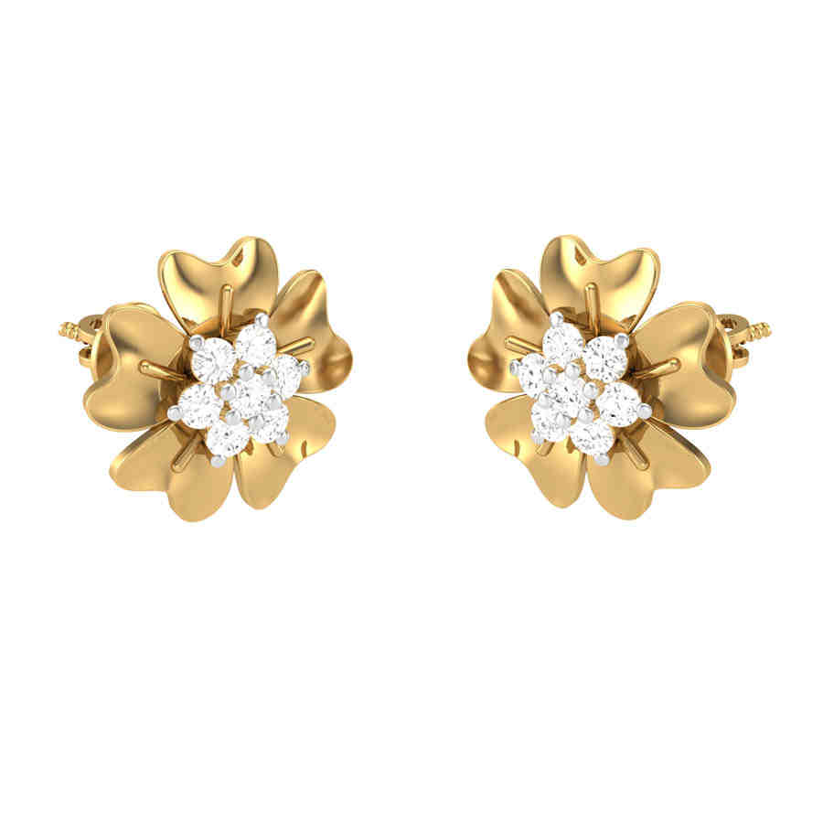 Rhinestone Diamond Earring