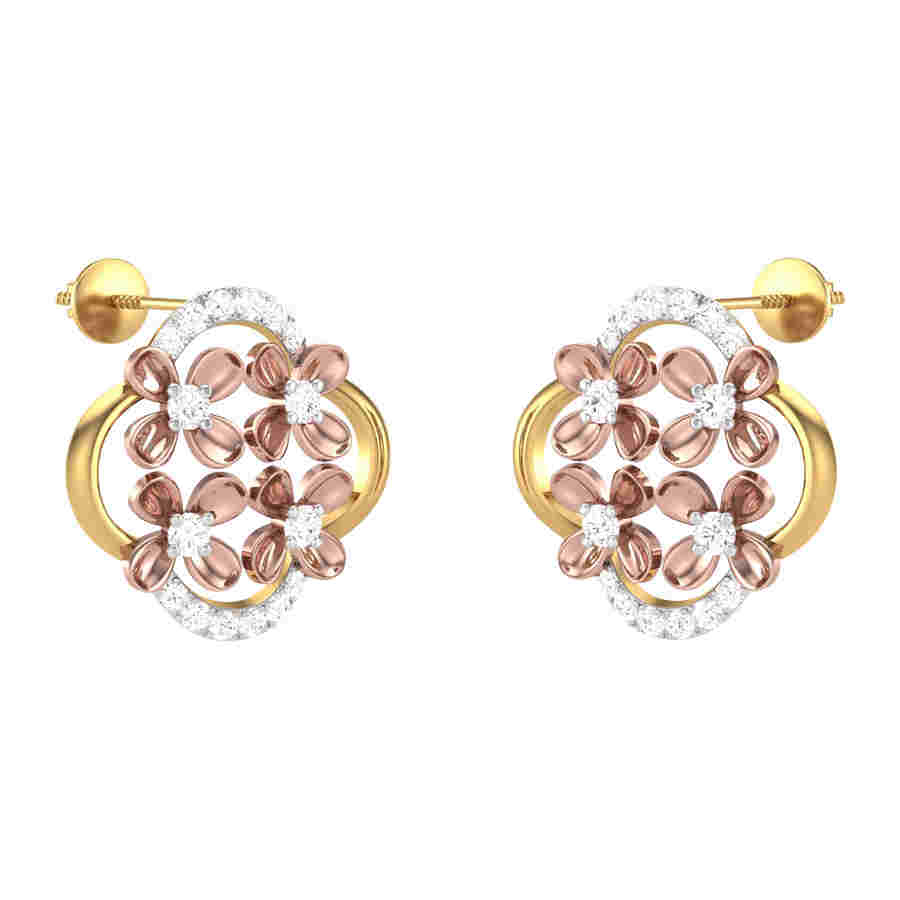 Finery Diamond Earring