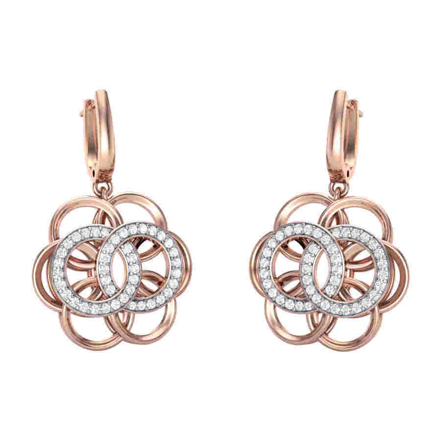 Lavaliere Diamond Earring