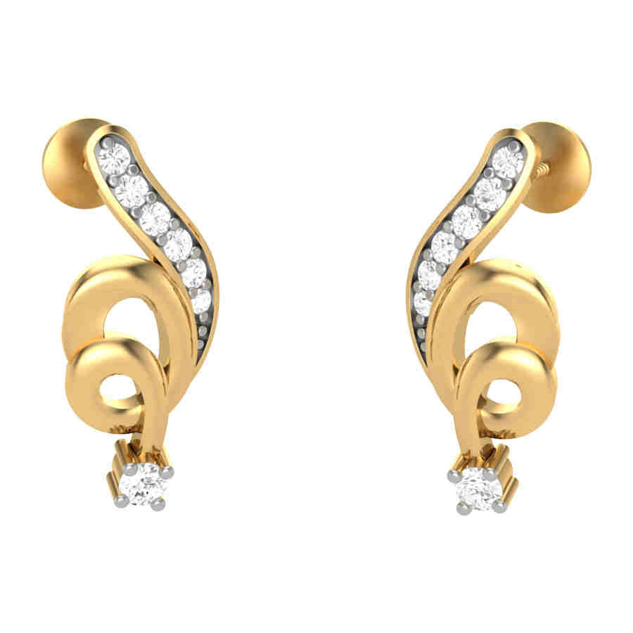 Bijau Diamond Earring