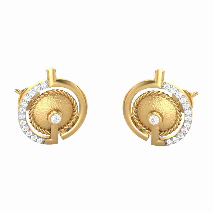 Bauble Diamond Earring