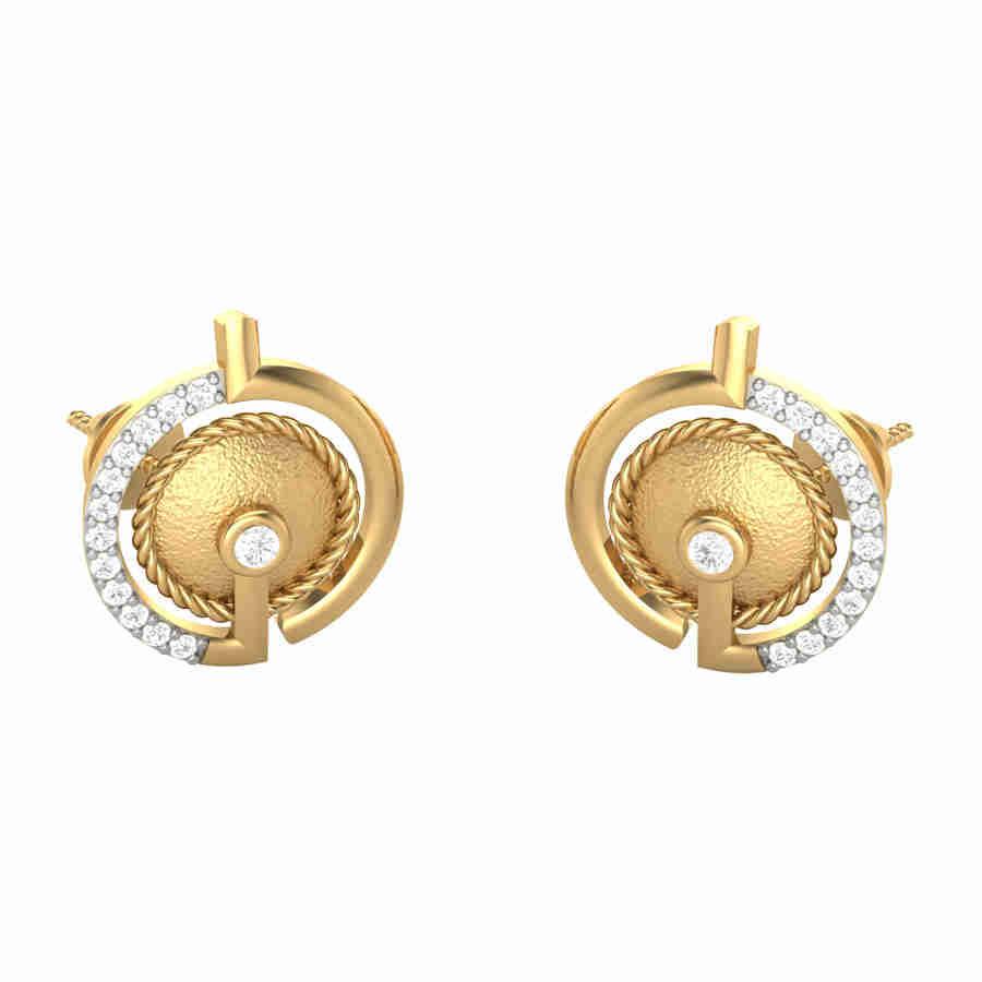 Bauble Diamond Earring