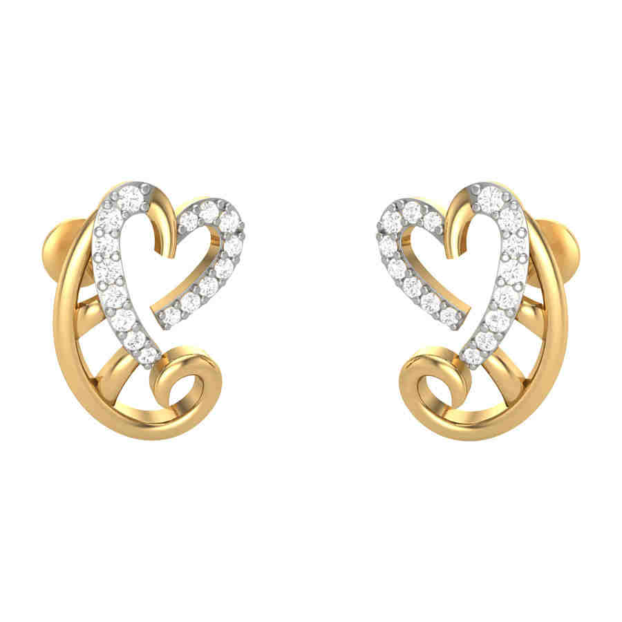 Regalia Diamond Earring