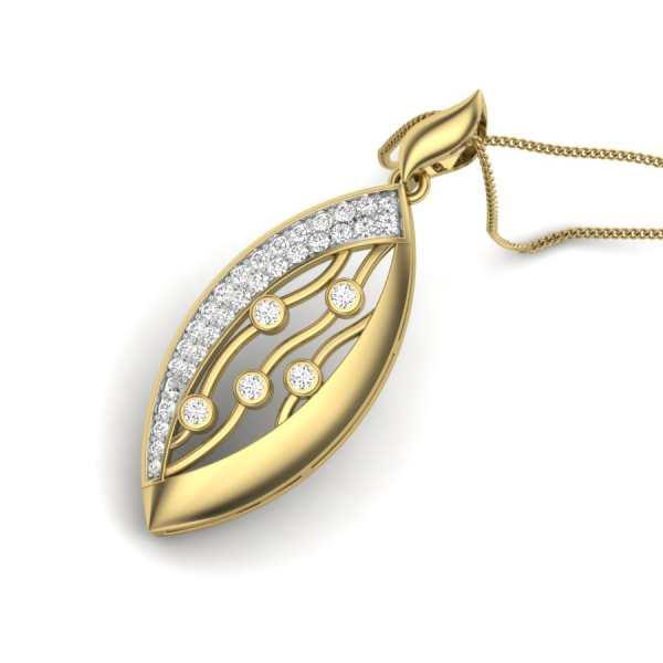 Drizzling Diamond Pendant