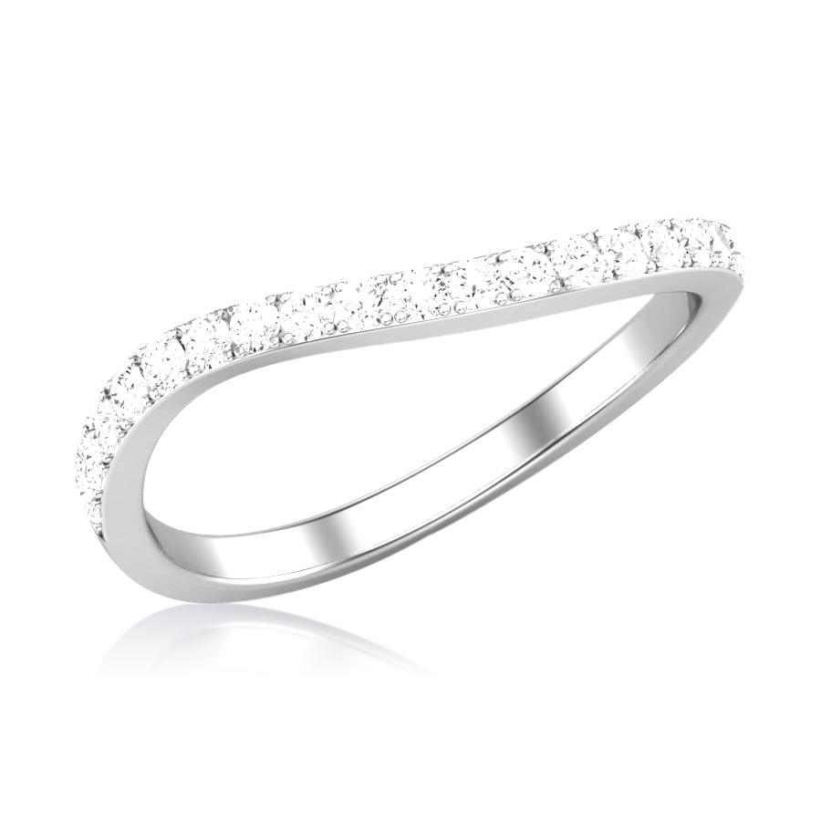 Zircon Diamond Ring