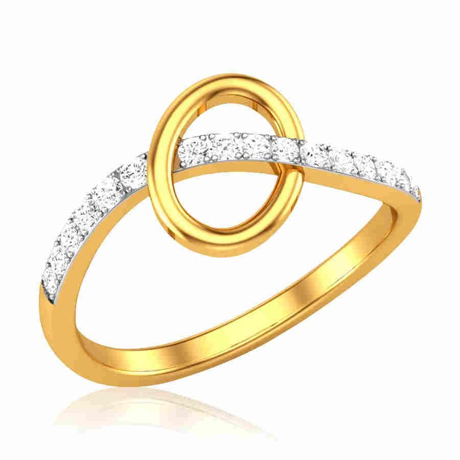 Gridiron Diamond Ring