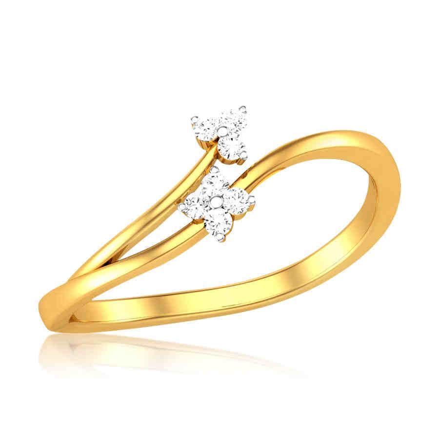 Goddess Diamond Ring