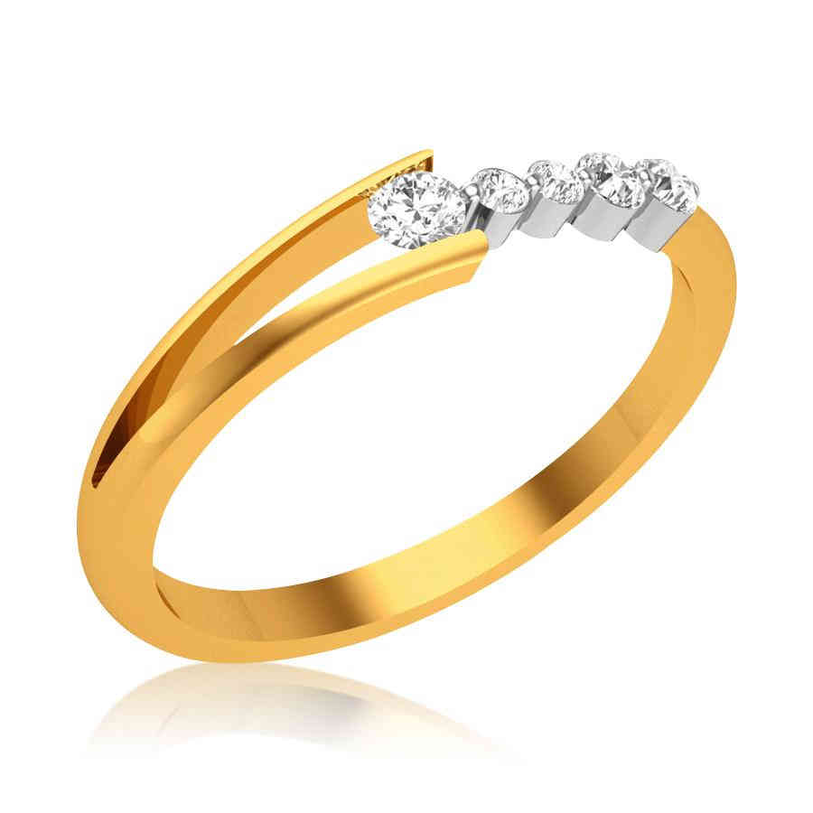 Fancy Aaruhi Diamond Ring