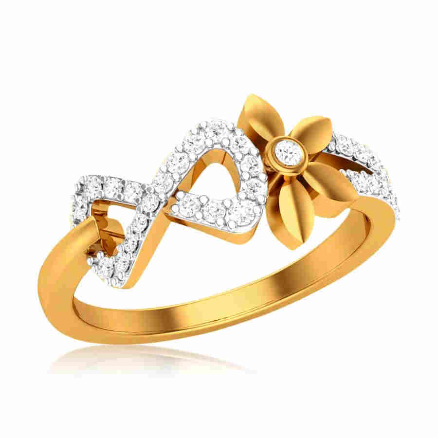 Frippery Diamond Ring