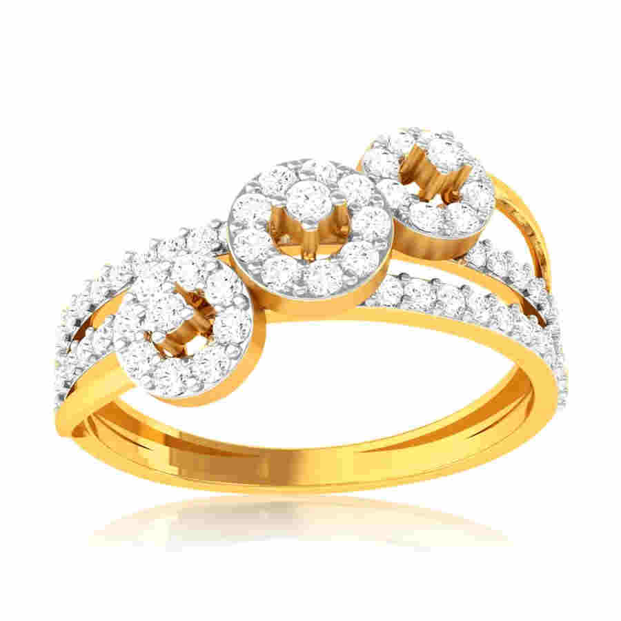 Ornament Diamond Ring